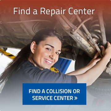find a repair center